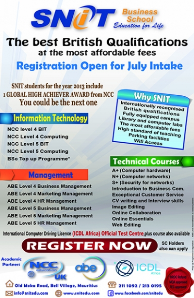 July 2014 Intake